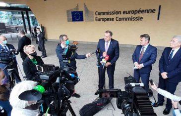 """DODIK EUFORIČAN NAKON SASTANKA U BRISELU: """"U planu projekti vrijedni nekoliko milijardi eura""""!"""