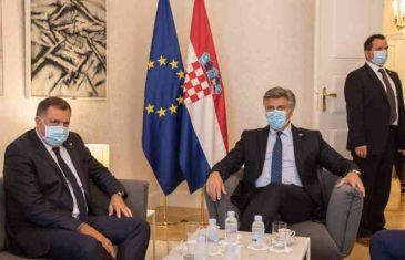 """DODIK ODGOVORIO NA PROZIVKE IZ SARAJEVA: """"Moja posjeta Zagrebu sasvim je legitimna, ni riječ nije izgovorena protiv Bošnjaka""""!"""