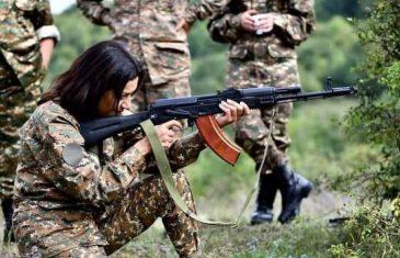 OPĆA MOBILIZACIJA NA KAVKAZU: Supruga premijera Armenije otišla da ratuje u Nagorno-Karabah, pogledajte šta je objavila na Facebooku…