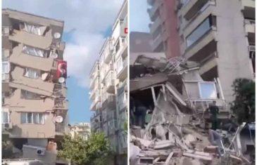 JAK ZEMLJOTRES POGODIO TURSKU I GRČKU: Poslije prvog udara od 7 stepeni, uslijedila tri manja! Srušene čitave zgrade!