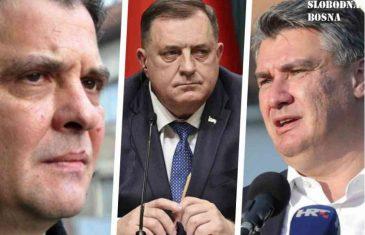 """VASKOVIĆEVO PISMO ZORANU MILANOVIĆU ODJEKNULO U HRVATSKOJ: """"Smiri svog jazavca Dodika; Reci mu – Špijunčino, znam šta govoriš o Srbima…"""""""