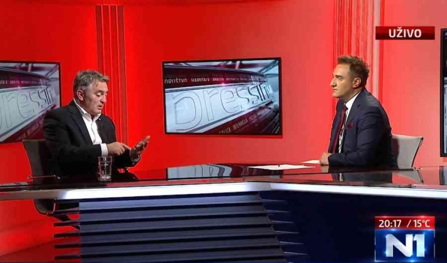 """ŽELJKO KOMŠIĆ O HAPŠENJU MILORADA DODIKA: """"SIPA može uhapsiti bilo koga u Bosni i Hercegovini"""""""